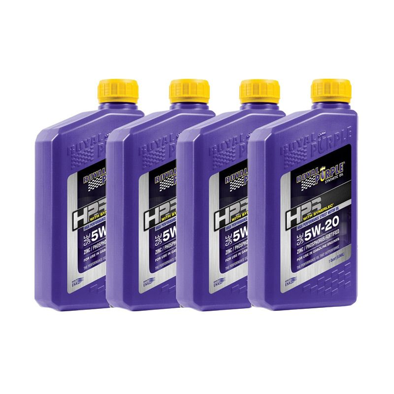 Royal Purple HPS 5W-20 Fully Synthetic Oli Plumas [4 Quart]