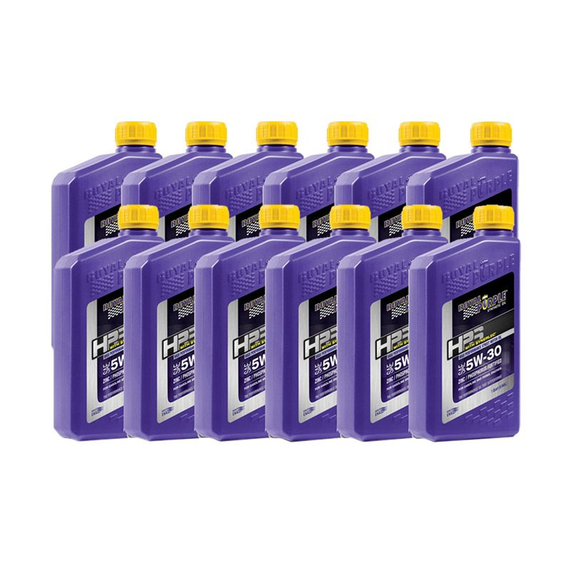 Royal Purple HPS 5W-30 Fully Synthetic Oli Pelumas [12 Quart]