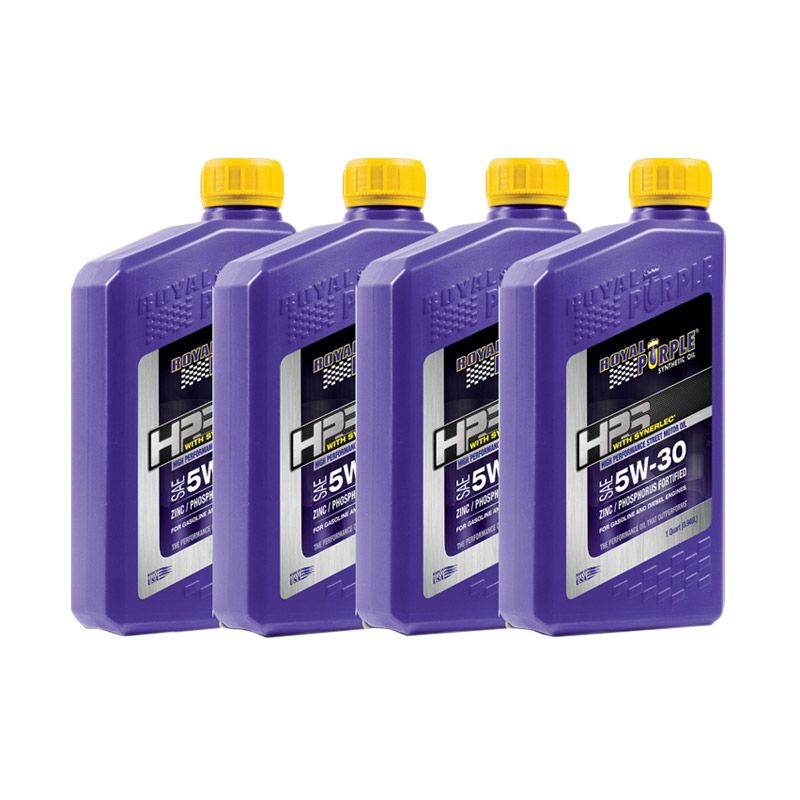 Royal Purple HPS 5W-30 Fully Synthetic Oli Pelumas [4 Quart]