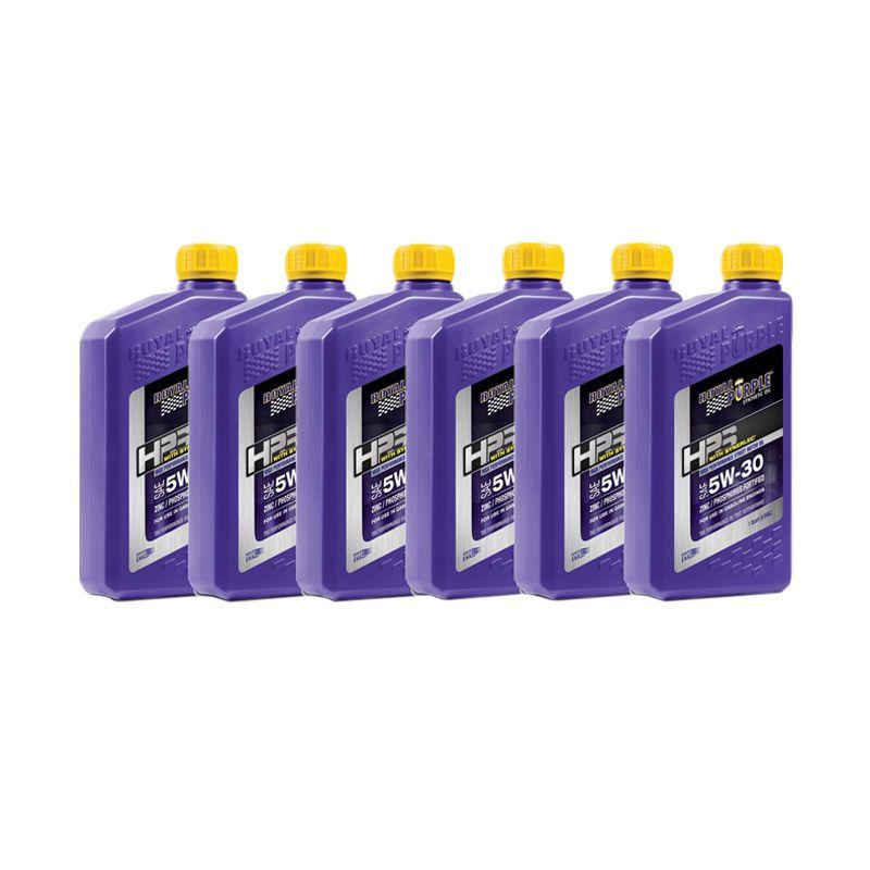 Royal Purple HPS 5W-30 Fully Synthetic Oli Pelumas [6 Quart]