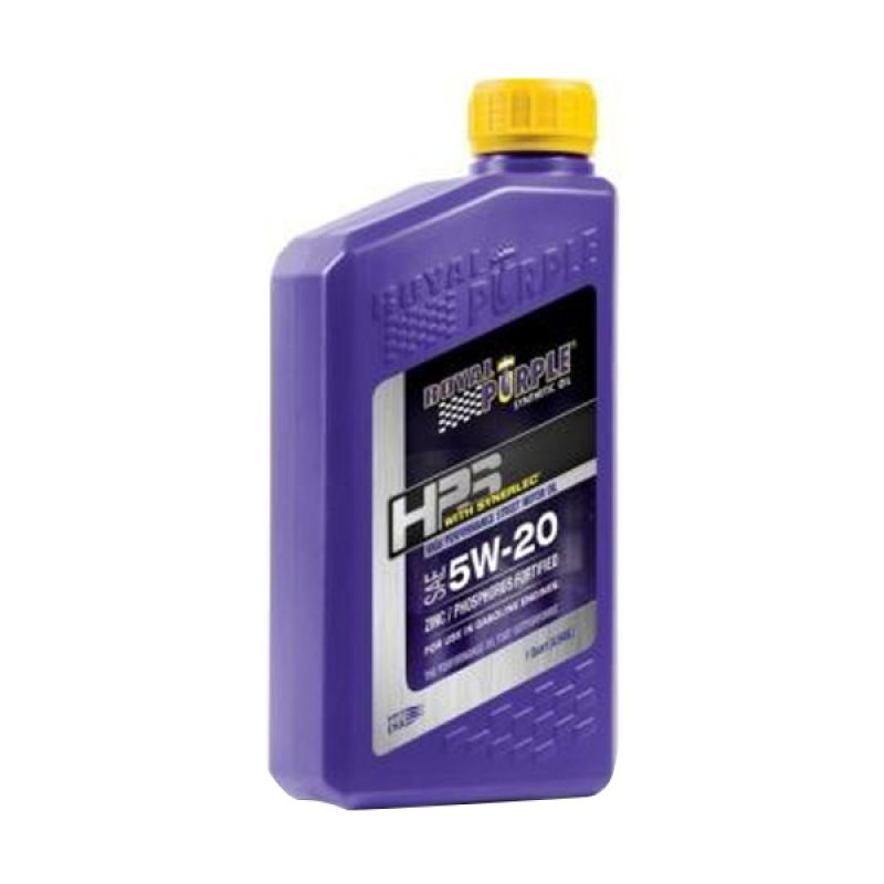 Royal Purple HPS Fully Synthetic Engine Oil 5W-20 Pelumas Mobil [1 Quart/964 mL]