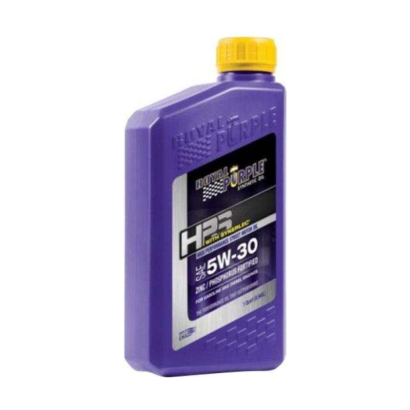 Royal Purple HPS Fully Synthetic Engine Oil 5W-30 Pelumas Mobil [1 Quart/964 mL]
