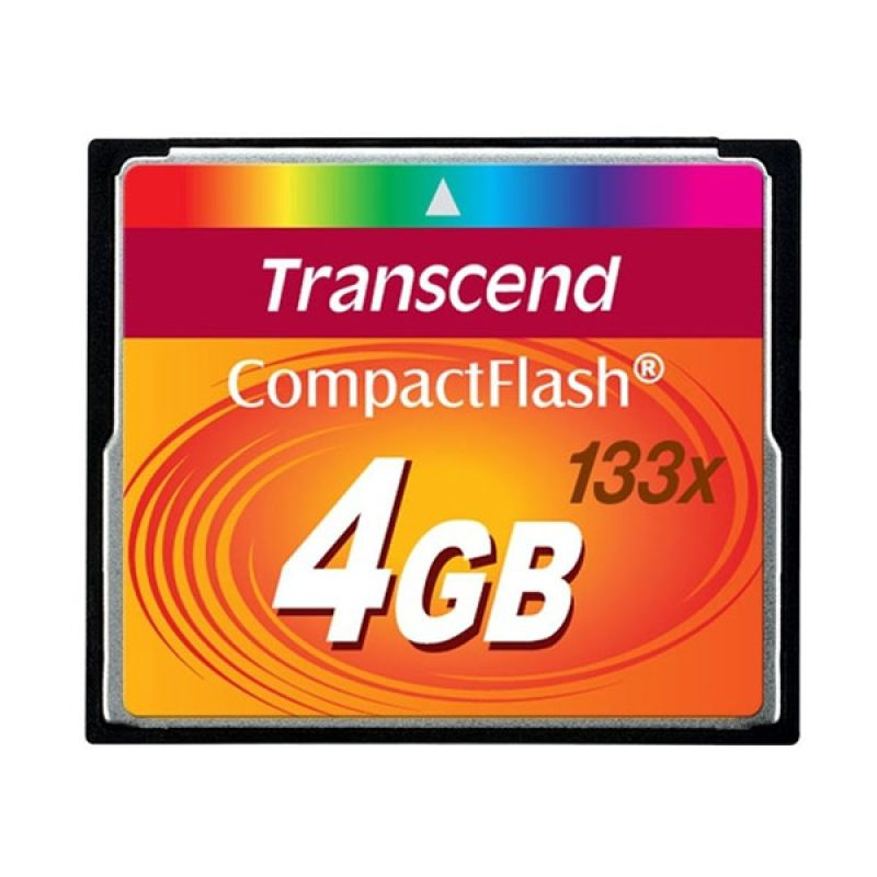 Transcend Compact Flash CF 4 GB Memory Card