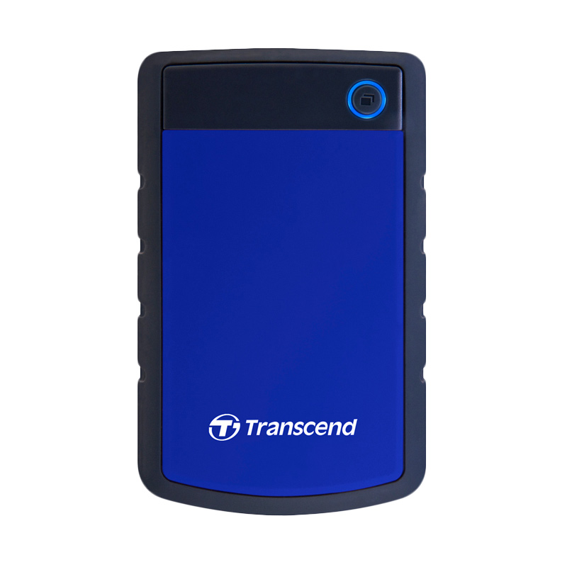 Transcend 25H3B Hard Disk Eksternal - Biru [1 TB]
