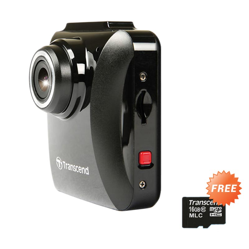harga Transcend DrivePro 100 CVR DP100 Car Video Recorders + Memory Card Micro SDHC MLC [16 GB] Blibli.com