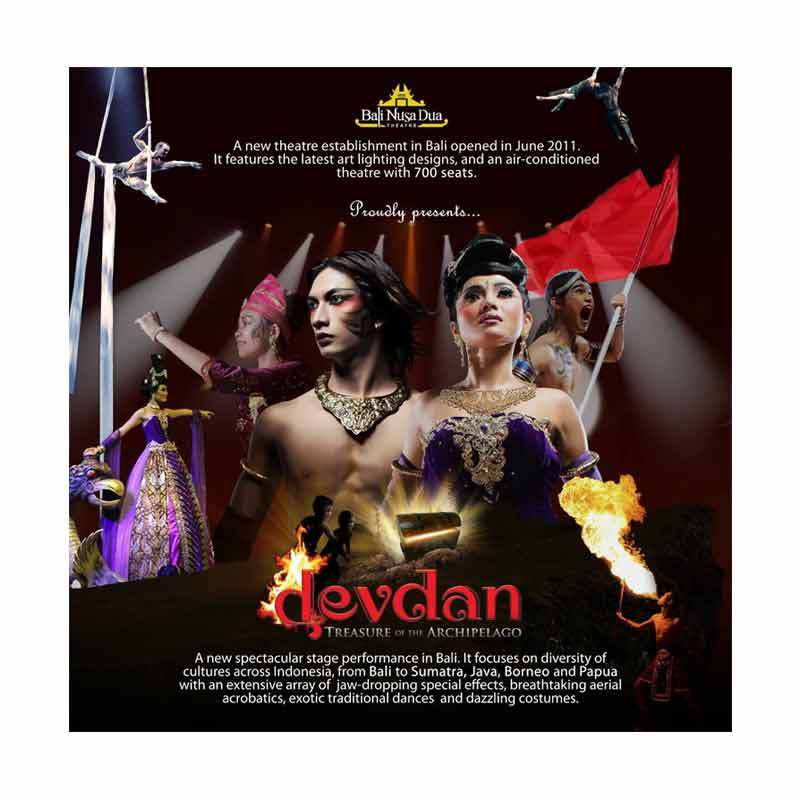 Bali Devdan Show VIP Adult E-Ticket