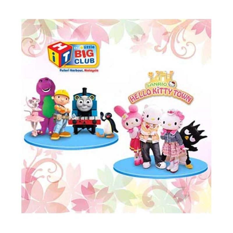 Jual Travel Point Hellokitty Town Amp Thomas Town Online