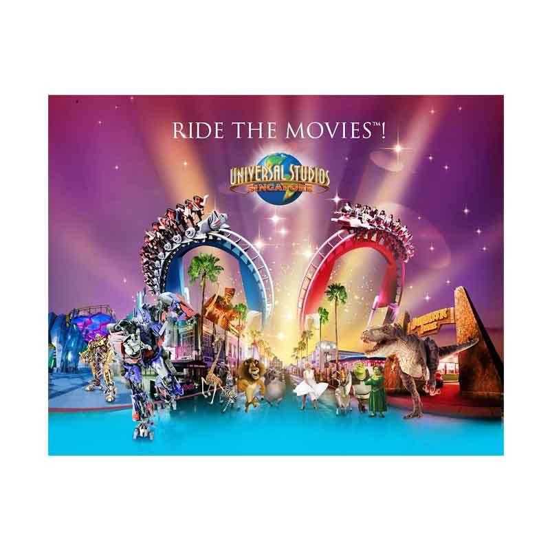Travel Station Universal Studios Singapore E Ticket Child
