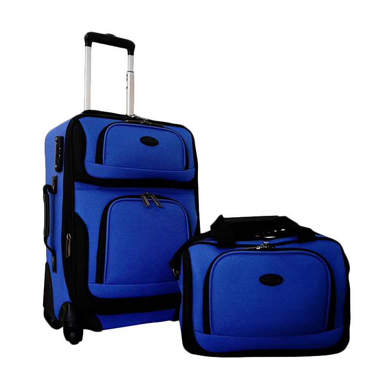 Traveler's Choice Rio Koper Set Navy