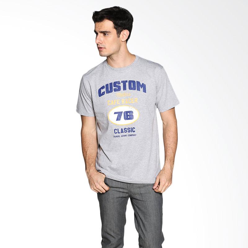 Travis Jeans Classic CR Misty TRV13M00047 T-Shirt - Gray Extra diskon 7% setiap hari Extra diskon 5% setiap hari Citibank – lebih hemat 10%