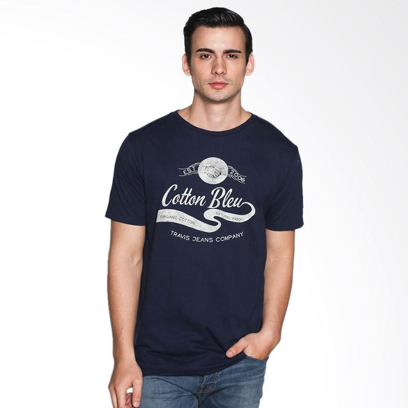 Travis Jeans Cottonbleu TRV13M00022 T-Shirt - Navy Blue Extra diskon 7% setiap hari Extra diskon 5% setiap hari Citibank – lebih hemat 10%
