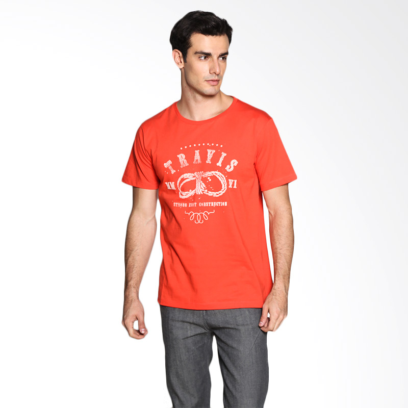 Travis Jeans Rope TRV13M00033 T-Shirt - Coral Extra diskon 7% setiap hari Extra diskon 5% setiap hari Citibank – lebih hemat 10%
