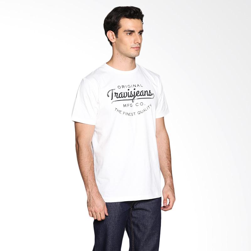 Travis Jeans Travis ORG TRV13M00041 T-Shirt - White Extra diskon 7% setiap hari Extra diskon 5% setiap hari Citibank – lebih hemat 10%
