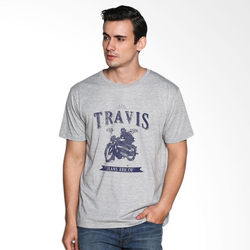 Travis Jeans TRV13M00020 T-Shirt Motorcycle - Misty Gray Extra diskon 7% setiap hari Extra diskon 5% setiap hari Citibank – lebih hemat 10%