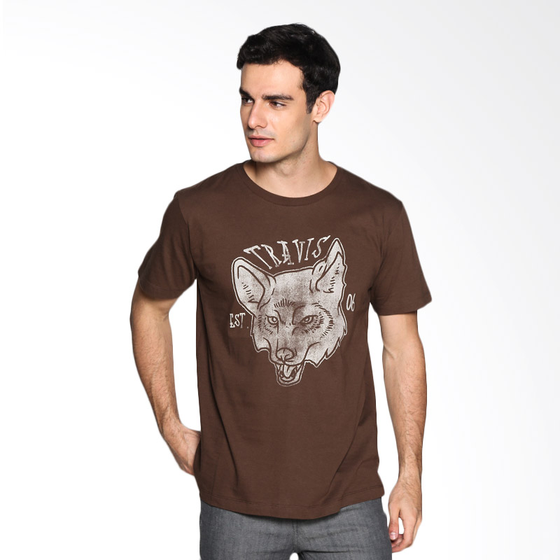 Travis Jeans Wolf TRV13M00023 T-Shirt - Brown Extra diskon 7% setiap hari Extra diskon 5% setiap hari Citibank – lebih hemat 10%