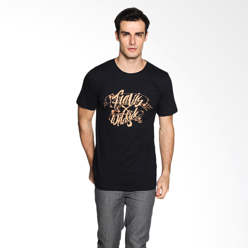 Travis Jeans Wxt Typography TRV13M00038 T-Shirt - Black Extra diskon 7% setiap hari Extra diskon 5% setiap hari Citibank – lebih hemat 10%