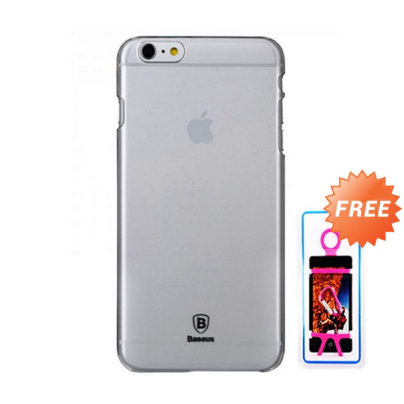 Baseus Sky White Casing for iPhone 6 + Rubber Bikini Phone