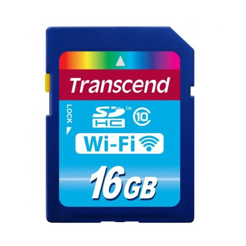 Transcend Biru SD Card [Wi-Fi/16 GB]