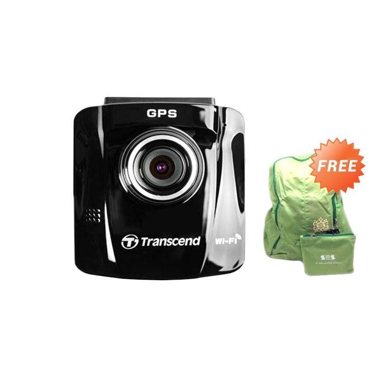 harga Transcend Car Video Recorder DrivePro 220 Included 16GB MLC Hitam Action Cam + Tas Ransel Blibli.com