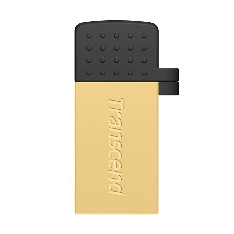 Transcend JetFlash 380G Gold OTG [32 GB]