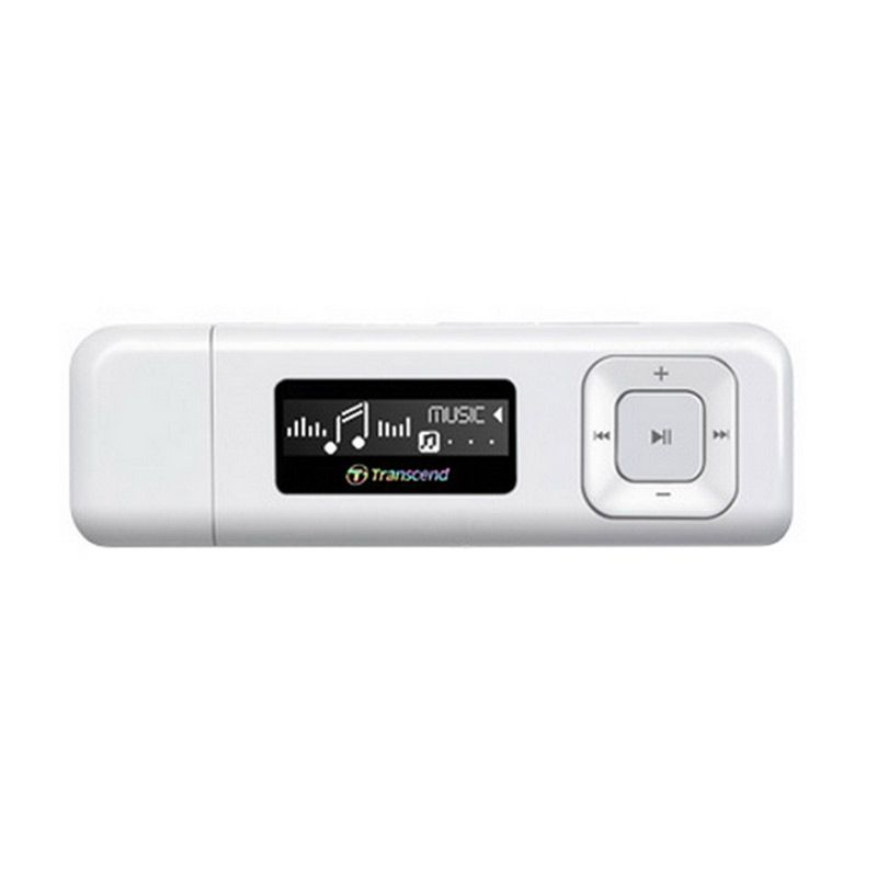 Transcend MP330 Putih MP3 Player [8GB] + Kabel Micro USB
