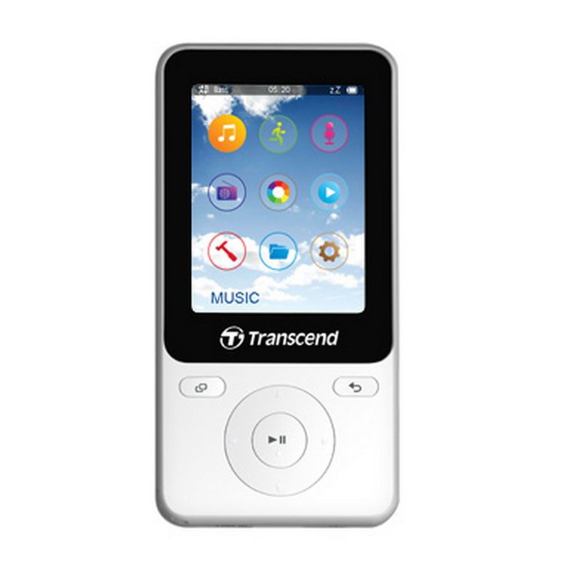Transcend MP710 Putih MP3 Player [8 GB]