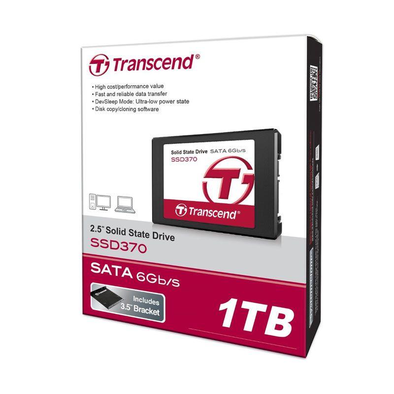 Transcend SSD370 SATA III 6G / s SSD Hardisk [1 TB]