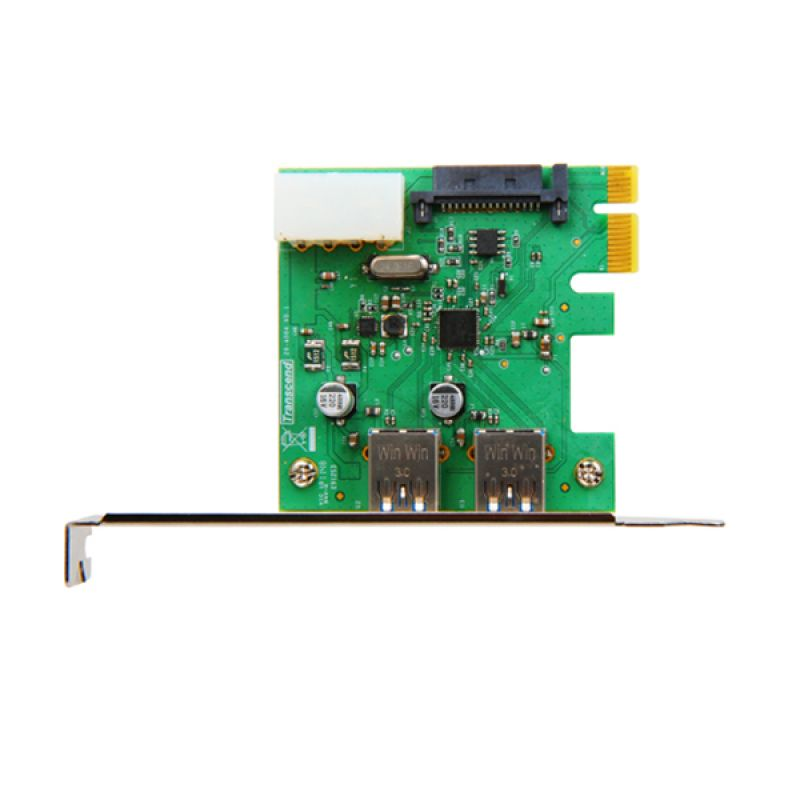 Transcend USB 3.0 Expansion Card PDU3 Silver PCI Card