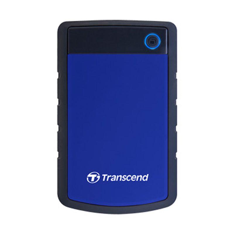 VISA DEAL - Transcend StoreJet 25H3B 1 TB Biru Hard Disk Eksternal