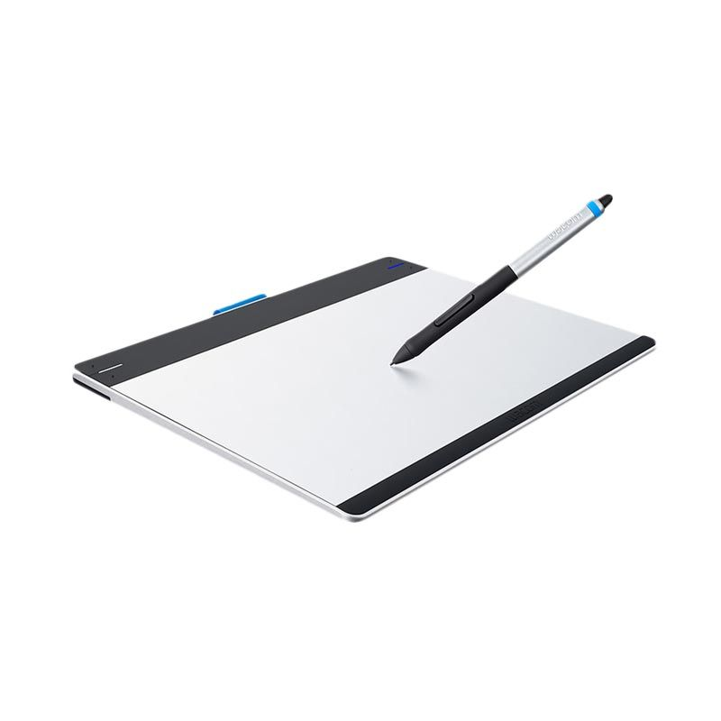 Wacom CTH-680/S2-CX Putih Intuos Pen & Touch Medium