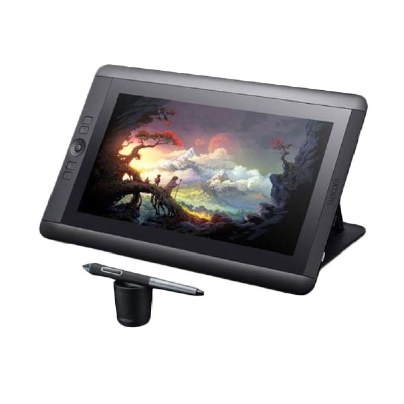 Wacom Touch Pen DTH-1300/K0-CX Cintiq K2 Hitam Digitizer Tablet [13 Inch HD]