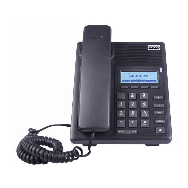 Zycoo CooFone-D30P IP Phone Telepon [PoE]