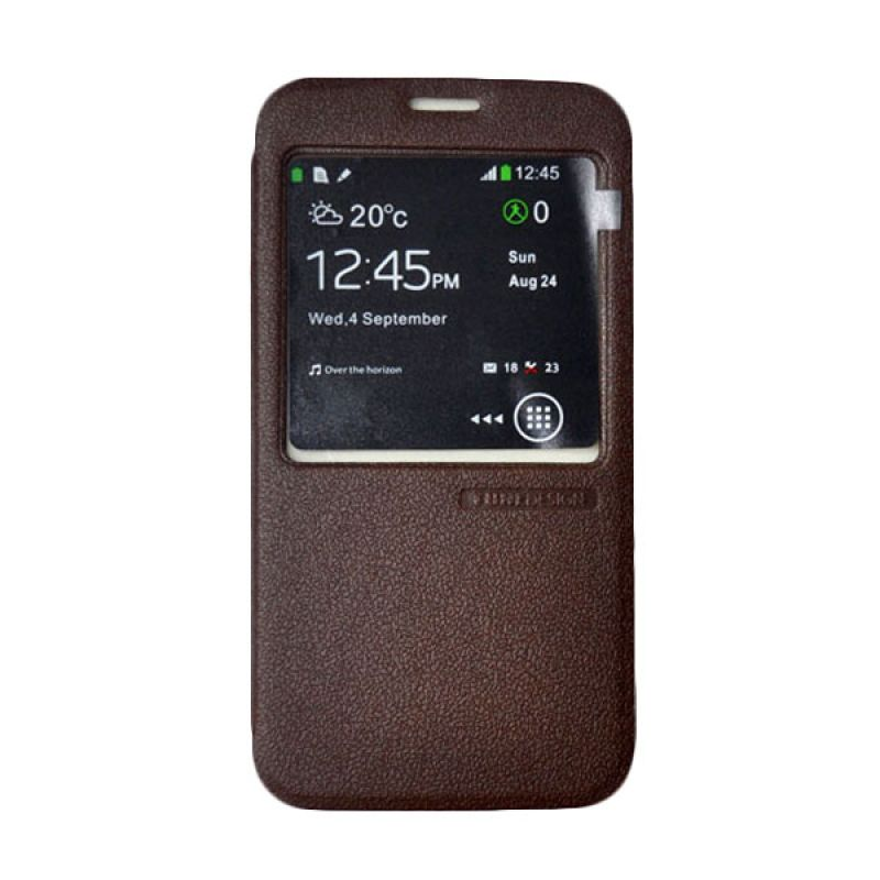 Casing Tunedesign FolioAir For Samsung Galaxy S5 - Coklat