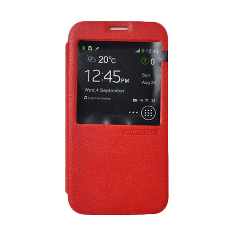 Casing Tunedesign FolioAir For Samsung Galaxy S5 - Merah
