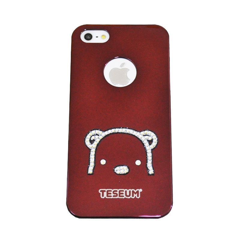 Dreamplus Teseum Teddy Bear Red Casing for Iphone 5