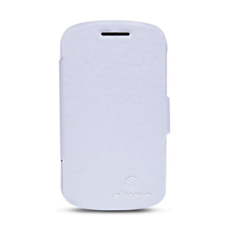 Nillkin Leather V-Seriess for Blackberry Q10 - White