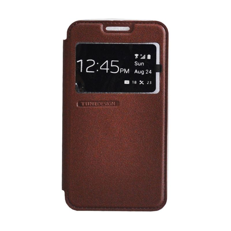 Tunedesign Folio Air Brown Casing for Samsung Galaxy A3