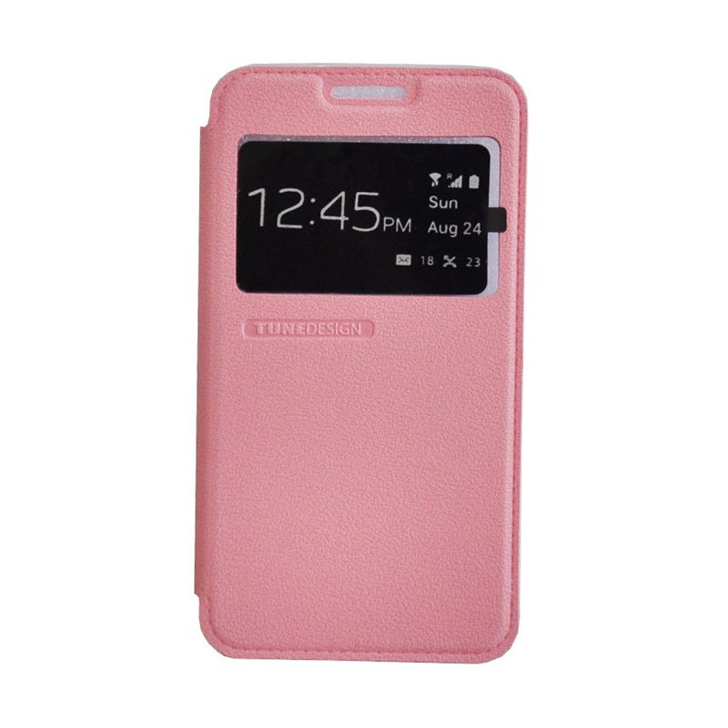 Tunedesign Folio Air Pink Casing for Samsung Galaxy A3
