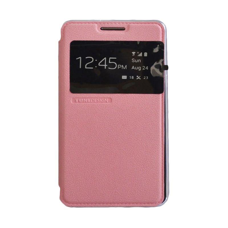 Tunedesign Folio Air Pink Casing for Samsung Galaxy A5