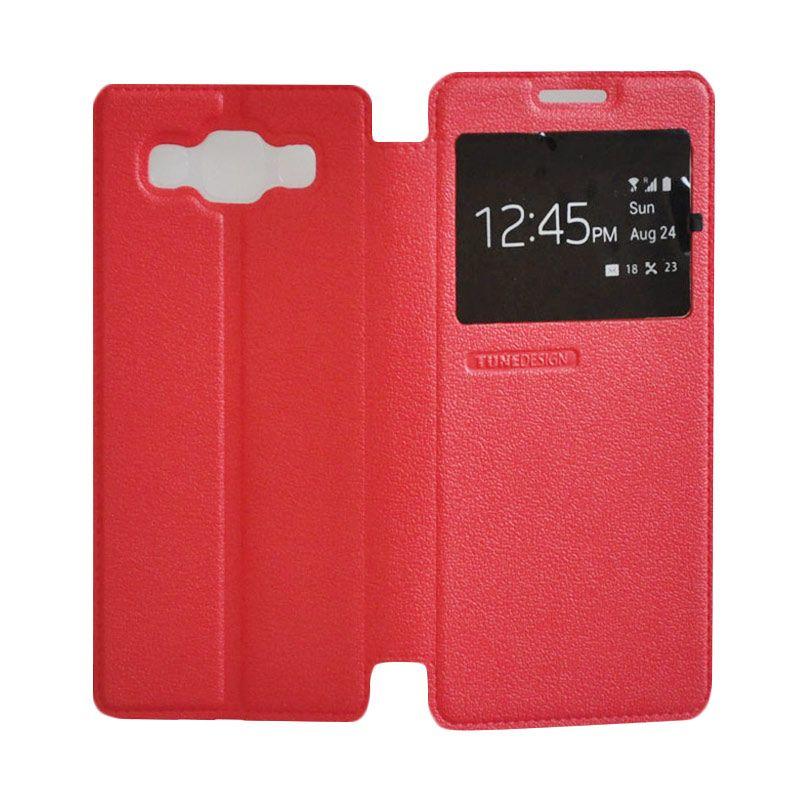 Tunedesign Folio Air Red Casing for Samsung Galaxy A5