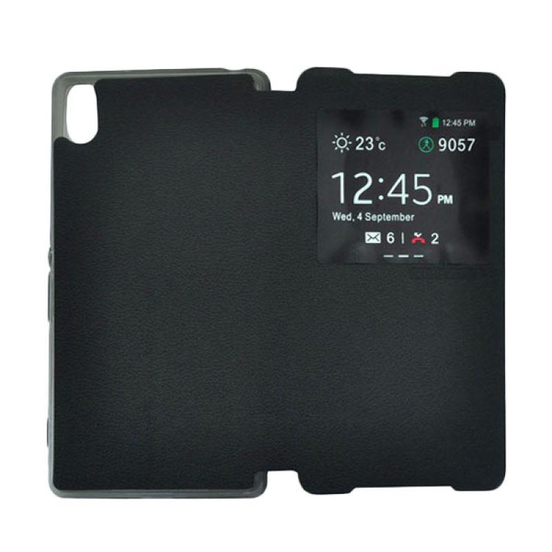 Tunedesign FolioAir For Sony Xperia Z2 - Casing Hitam