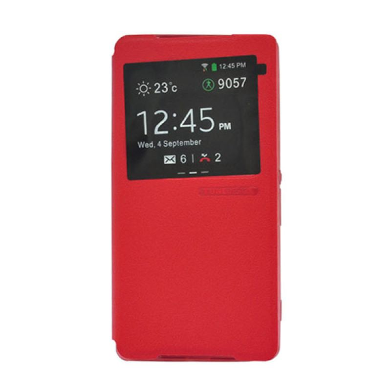 Tunedesign FolioAir For Sony Xperia Z2 - Casing Merah