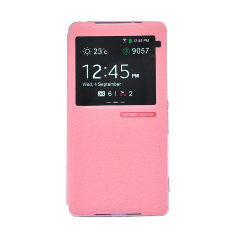 Tunedesign FolioAir For Sony Xperia Z2 - Casing Pink