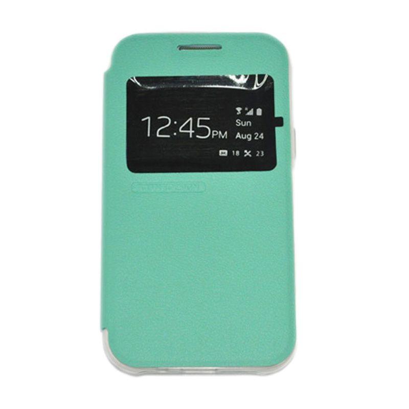 Tunedesign Folioair Green Casing For Samsung Galaxy J1