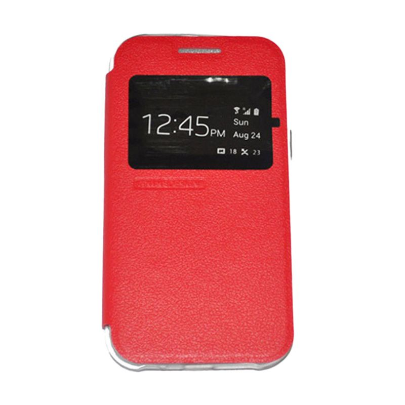 Tunedesign Folioair Red Casing For Samsung Galaxy J1