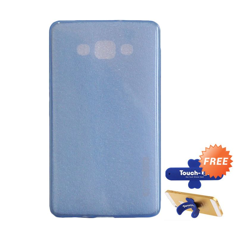 Tunedesign LiteAir Blue Casing for Samsung Galaxy A7 + Touch U Stand