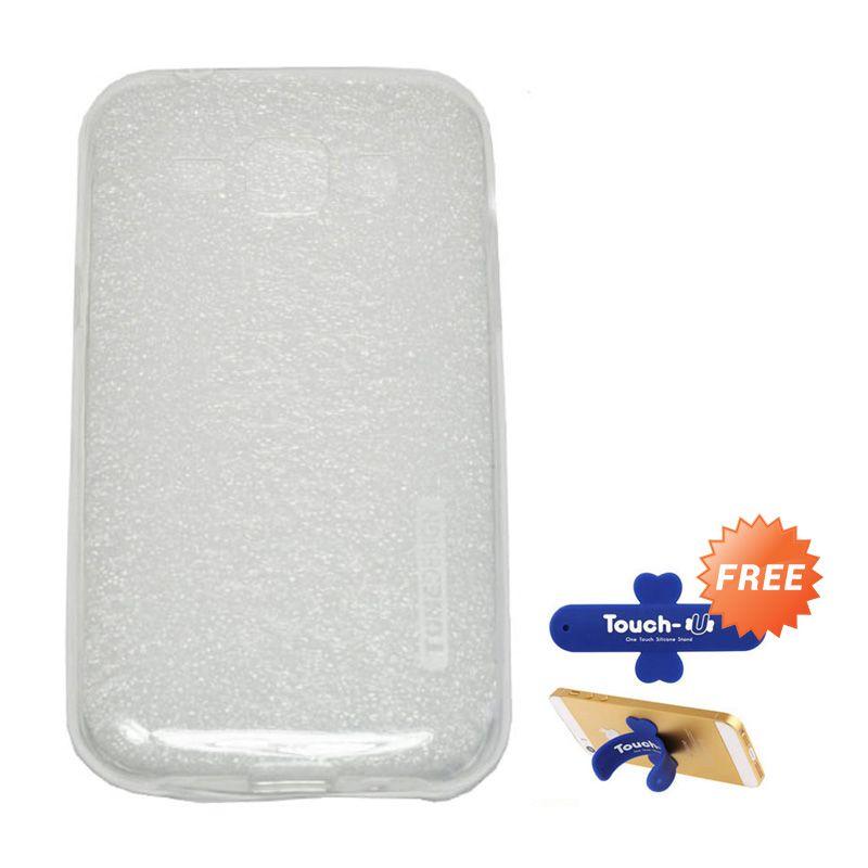 Tunedesign Liteair Clear Casing For Samsung Galaxy J1 + Touch U