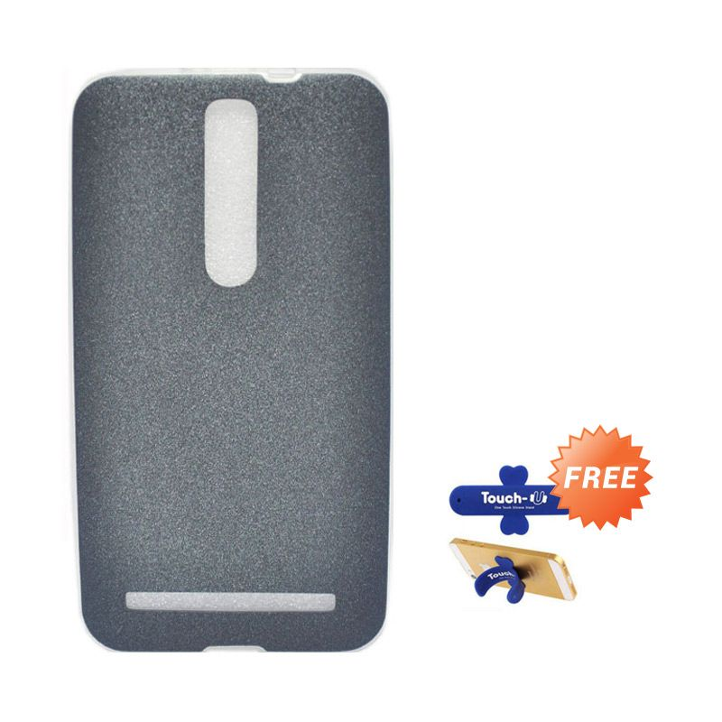 Tunedesign LiteAir Grey Casing For Asus Zenfone 2 5.5 + Touch U Stand