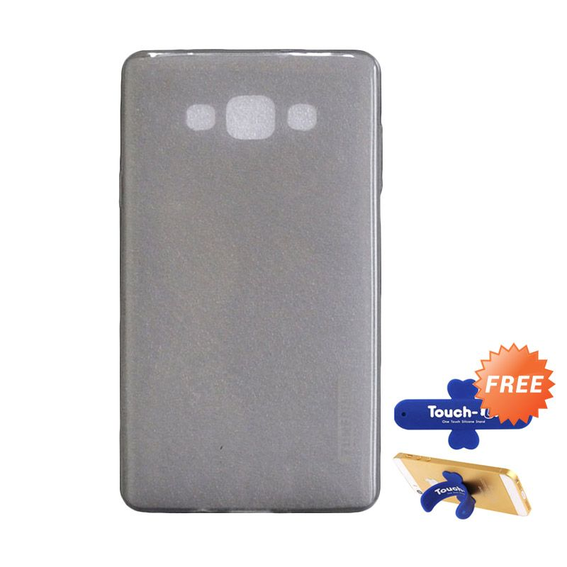 Tunedesign LiteAir Grey Casing for Samsung Galaxy A7 + Touch U Stand