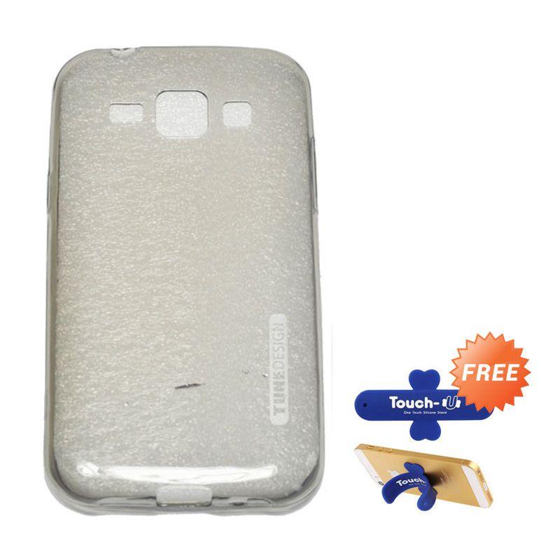 Tunedesign Liteair Grey Casing For Samsung Galaxy J1 + Touch U
